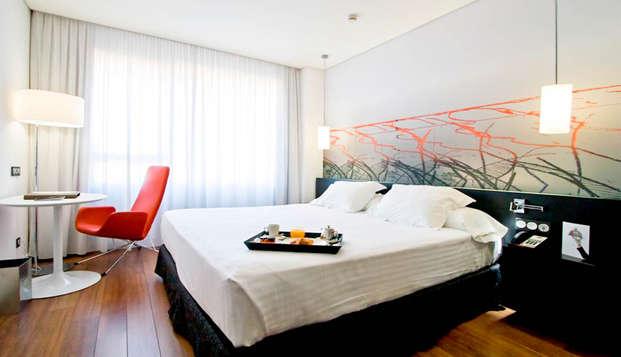 Week-end à Madrid avec accès à l'espace détente