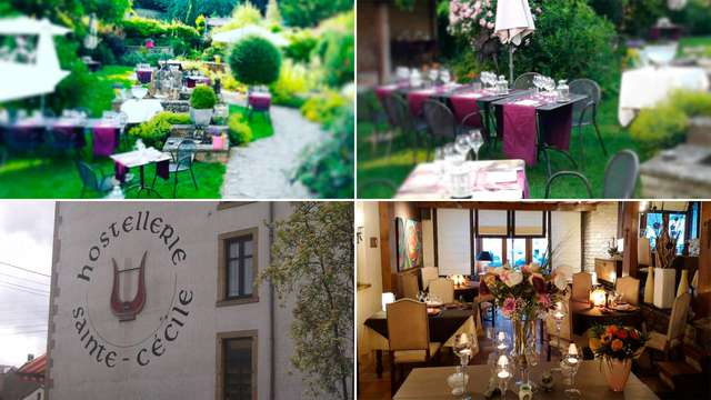 Hostellerie Sainte-Cecile The Originals Relais Relais du Silence