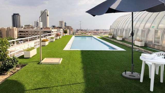 Apartamentos con piscina en la zona de Bernabeu