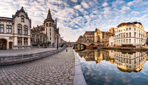 Comfortabel door de tijd reisen in Gent