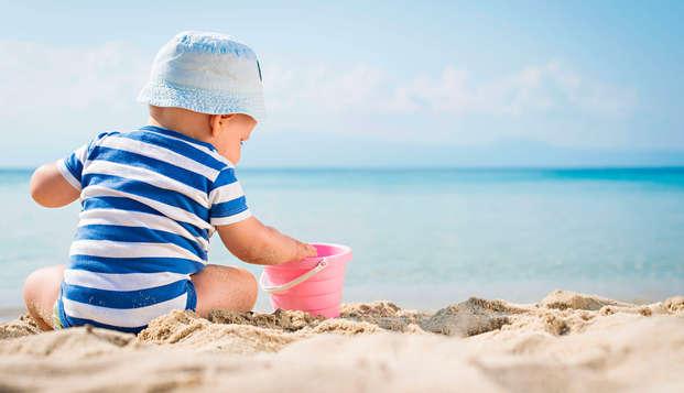 Demi-pension à Lloret de Mar en famille près de la plage