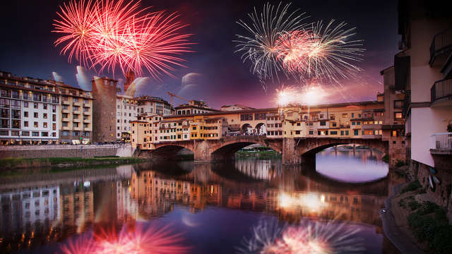 Capodanno a due passi da Firenze con cenone, party e accesso all'area wellness! (Cancellabile)