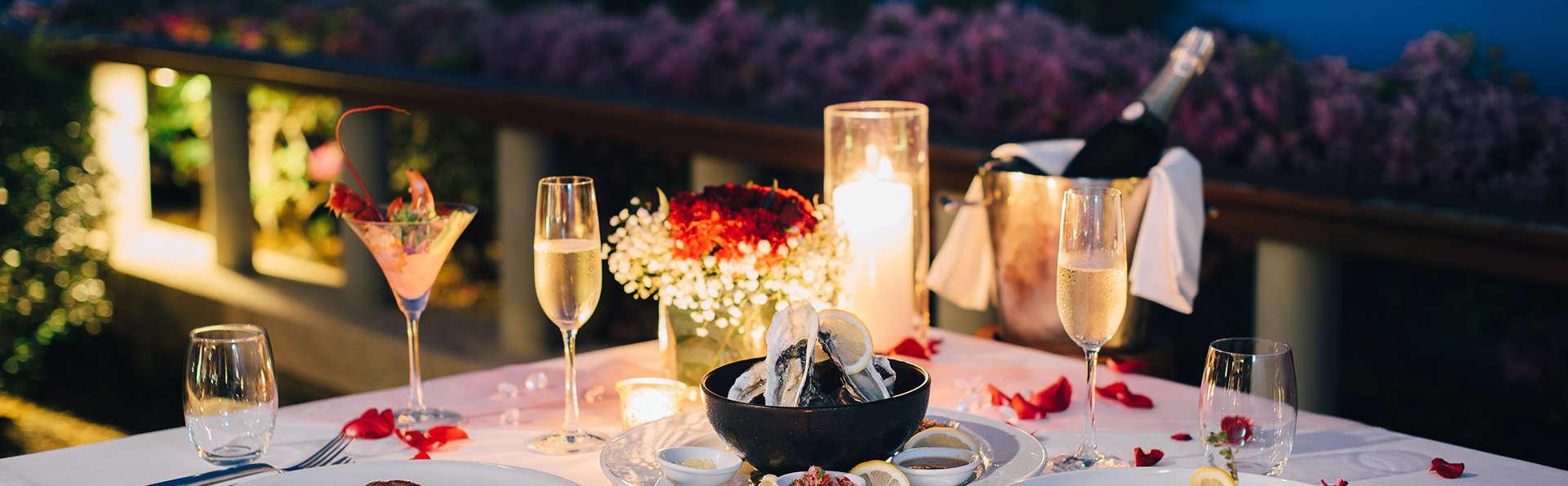 Dîner de la Saint Valentin et champagne au coeur du Luberon