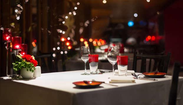Saint Valentin romantique avec diner au coeur d'Avignon