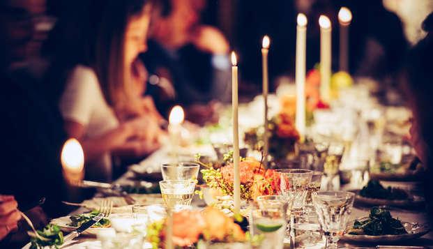 Saint Valentin avec dîner 4 plats en plein coeur d'Avignon