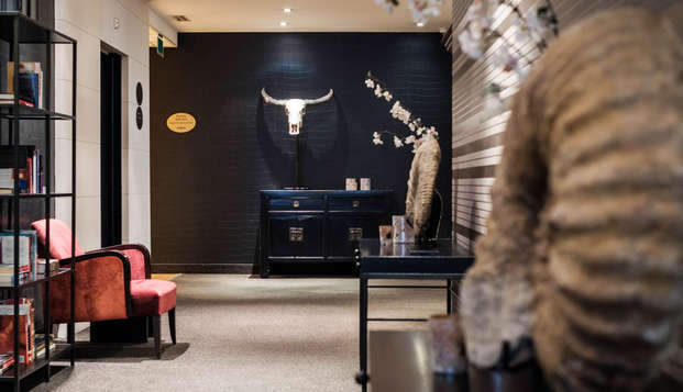 Parker Hotel Brussels Airport - NEW LOOBY