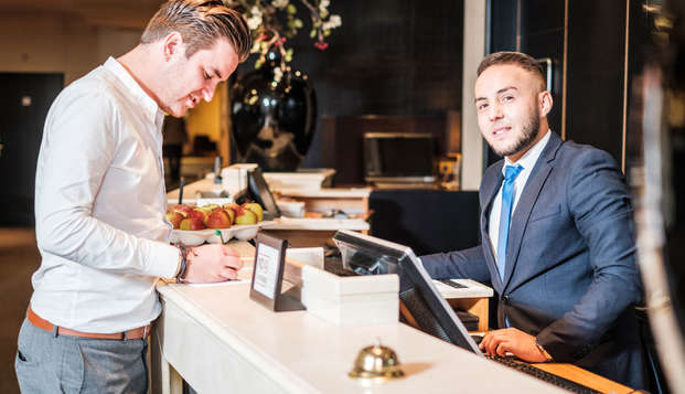 Parker Hotel Brussels Airport - NEW LOOBY-