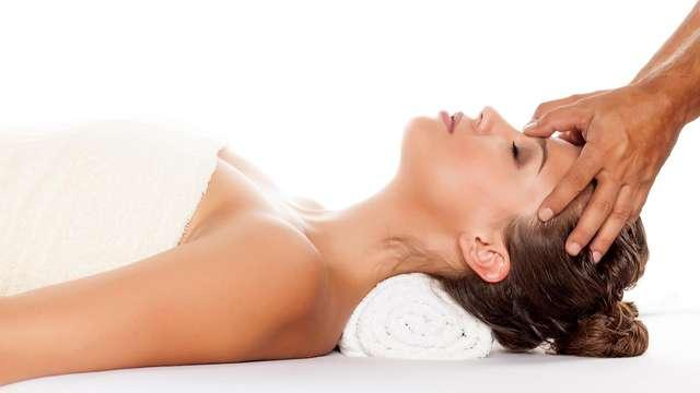 1 behandeling of massage voor 2 volwassenen