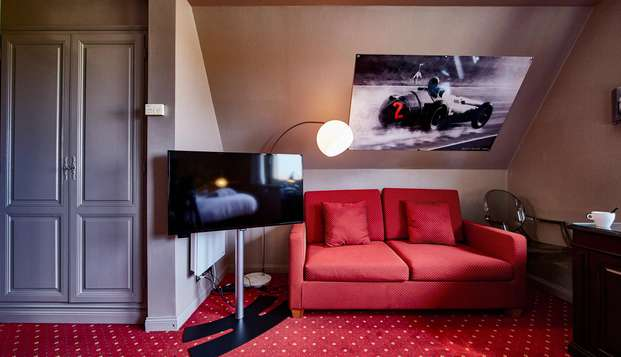 Best Western Hotel Au Cheval Blanc Mulhouse Nord - N ROOM