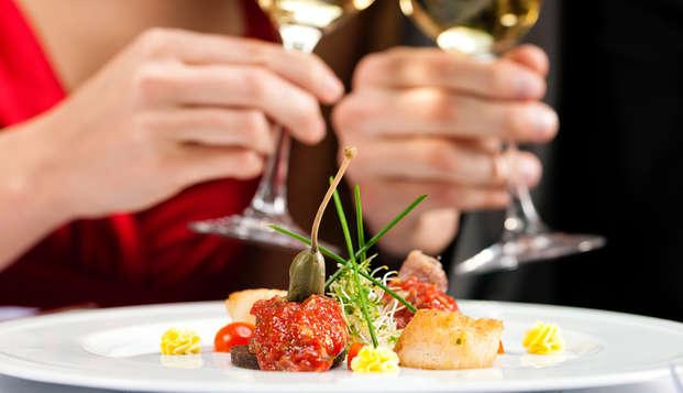 Séjour avec dîner dans une merveilleuse oasis de paix à deux pas du lac Majeur !