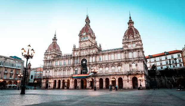 Encanto marino en el corazón de Santiago de Compostela