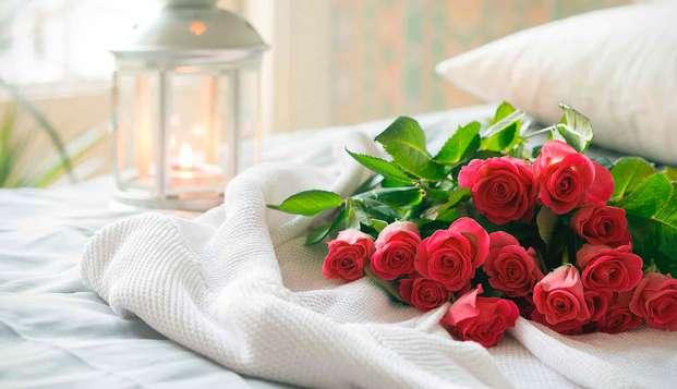 Escapade romantique en chambre supérieure, cadeau de bienvenue et autres surprises à Almuñecar