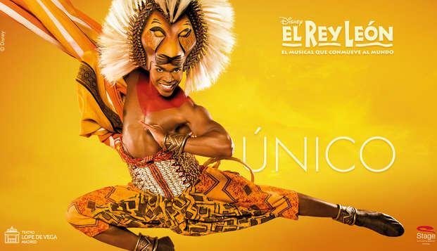 Enamórate en Madrid en un hotel boutique y disfruta del Musical del Rey León