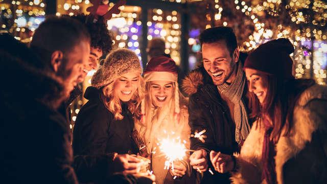 Celebra Nochevieja por todo lo alto con spa, cena y fiesta en la campiña gallega de Deza
