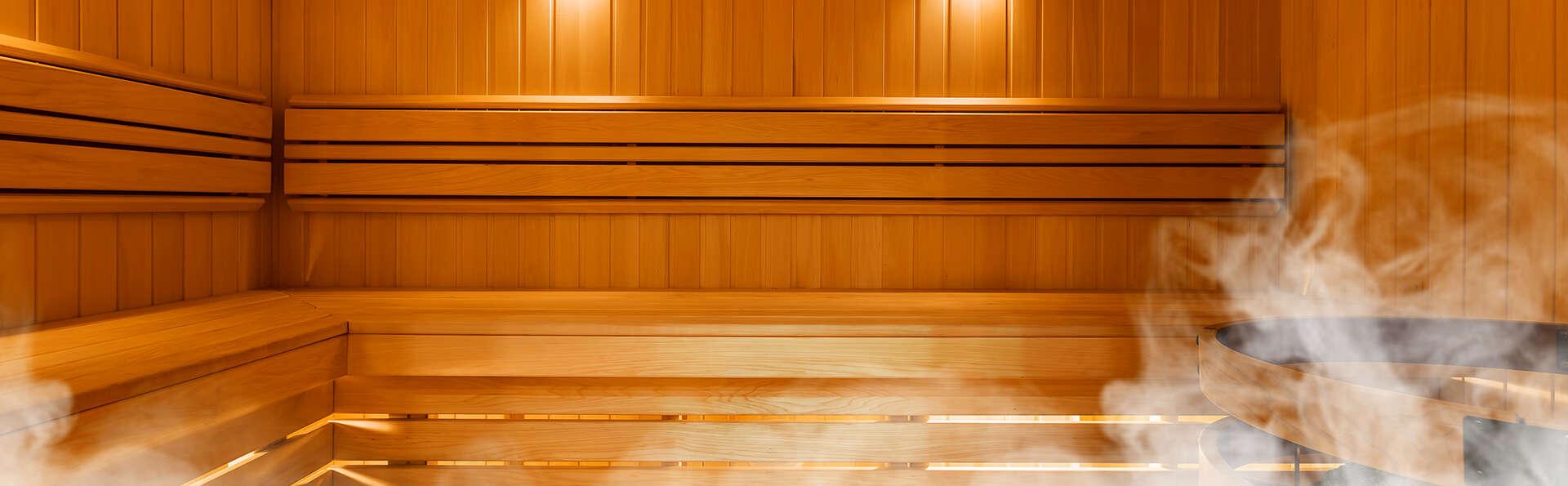 Weekend de luxe en junior suite et accès privatif au sauna au Cap d'Agde