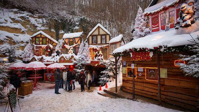 Genieten van een magische kerst en uitgebreide wellness in Valkenburg