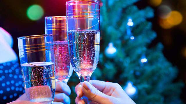 Offre spéciale pour Noël avec wellness, succulent diner et musique live