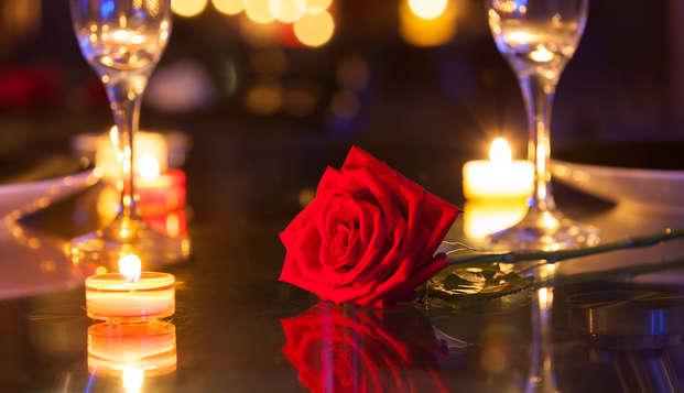 Saint Valentin: dîner, champagne et gourmandises à Cavaillon