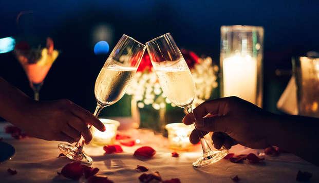 Saint Valentin détente et romantique dans le quartier de Saint Lazare