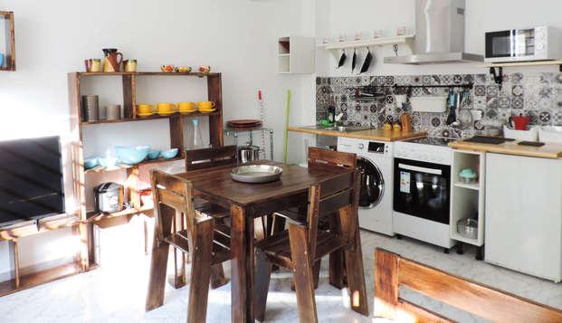 Escapada familiar en apartamento de 3 dormitorios a las puertas de Cáceres