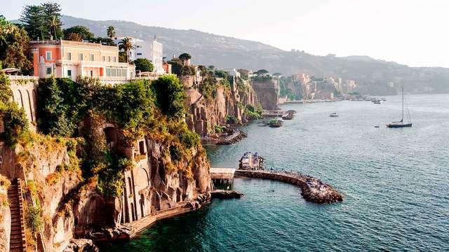 Merveilleux moments sur la côte amalfitaine