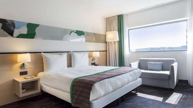 2 overnachtingen in een standaard tweepersoons kamer met stadszicht voor 2 volwassenen