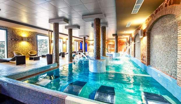 Spa lovers: Acceso a Elaiwa Spa en un hotel 5* con todo de detalles románticos en la habitación