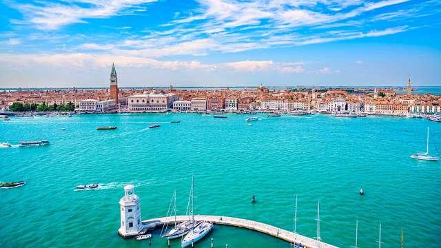 Luxe optrekje in Murano, net buiten Venetië
