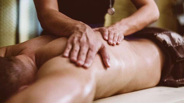 Escapada total bienestar en hotel 5* con acceso al spa y con masaje para dos