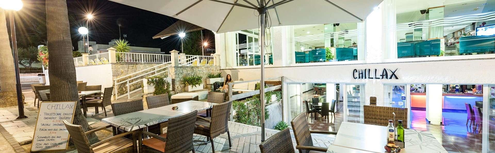 """Opción básica """"Low-Cost"""" en Mallorca en aparthotel a dos pasos de la playa"""