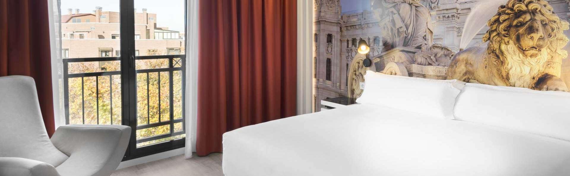 Venez découvrir Madrid dans un hôtel design avec une visite en bus touristique