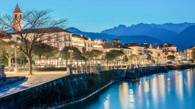 Weekend incantato e paesaggi mozzafiato in un hotel sulla riva del Lago Maggiore