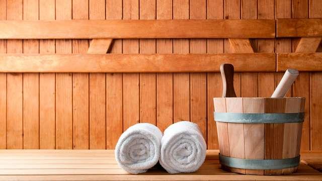 Acceso a la sauna y al gimnasio