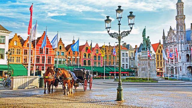 Offre spéciale: Restez 3 nuits pour le prix de 2 nuits au coeur de Bruges (à partir de 3 nuits)