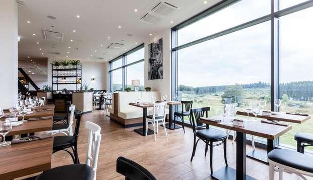 Parenthèse enchanteresse dans la campagne luxembourgeoise avec dîners inclus