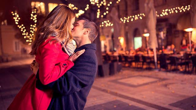Belle atmosphère romantique à Florence