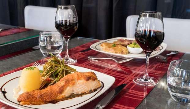 Año nuevo gourmet en el corazón de Cantal