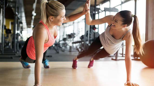 acceso al espacio fitness