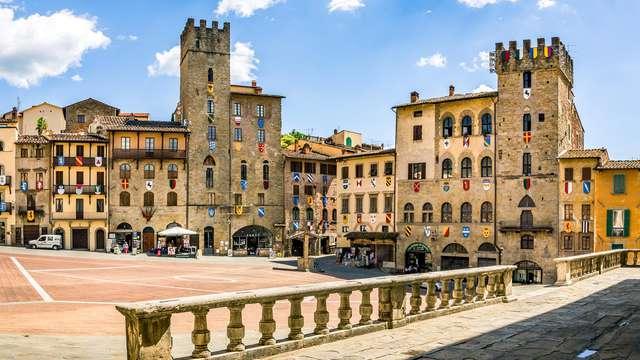 Week end di relax con spa nella romantica Arezzo (da 2 notti)