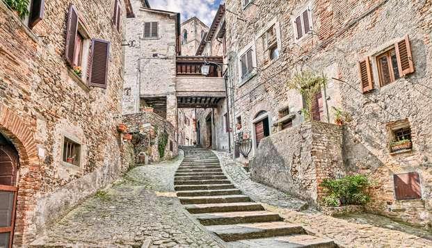 Rifugio nel verde tra le colline toscane alle porte di Arezzo