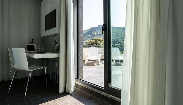 Diseño entre el mar y las colinas en Porto Ercole
