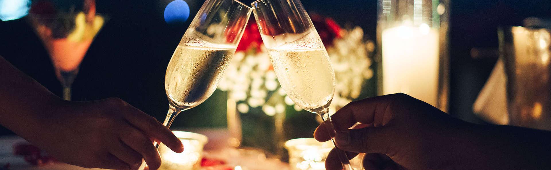 Romantiek met bubbels, diner en sauna op de Veluwe
