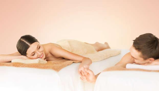 Estancia maravillosa con masaje en pareja y acceso exclusivo al spa en el corazón de Sicilia