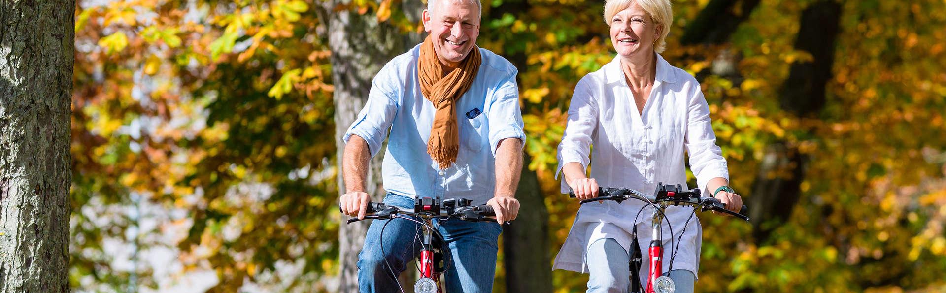 Escapade détente et touristique en vélo au cœur de Vichy