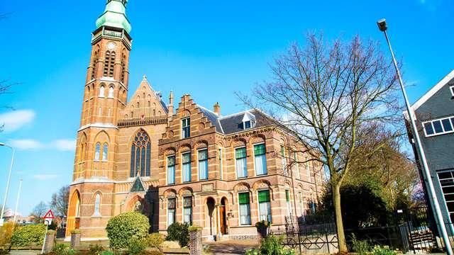 Vanuit Lisse ontdek je het allemaal: de prachtige omgeving of het stadsleven van Haarlem en Leiden