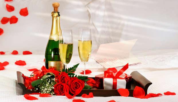 Dîner de la Saint Valentin et ambiance romantique au coeur de Lyon
