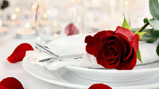 Parenthèse romantique avec dîner à Lyon