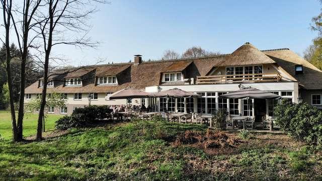 Mini-vacances culinaires dans un magnifique hôtel de la campagne de Twente (à partir de 2 nuits)