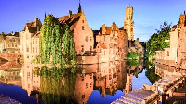 Charmant verblijf naast de Markt van Brugge