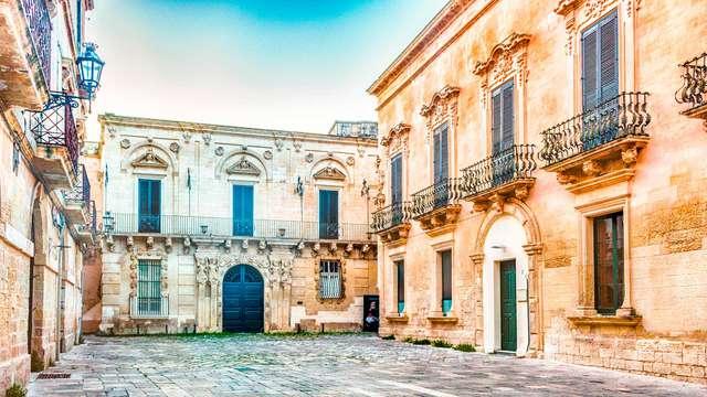 Prenota in anticipo e risparmia sul tuo soggiorno a Lecce